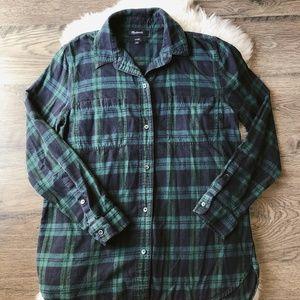 Madewell Women's Flannel Shirt-Classic Fit Sz SM